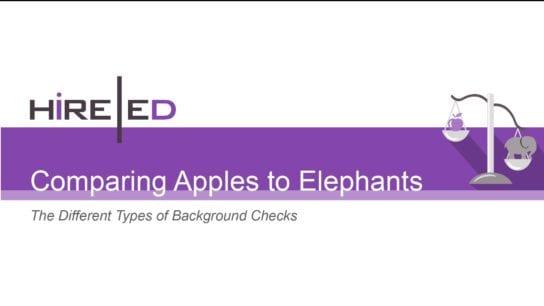 Apples to Elephants