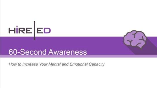 60 Second Awareness